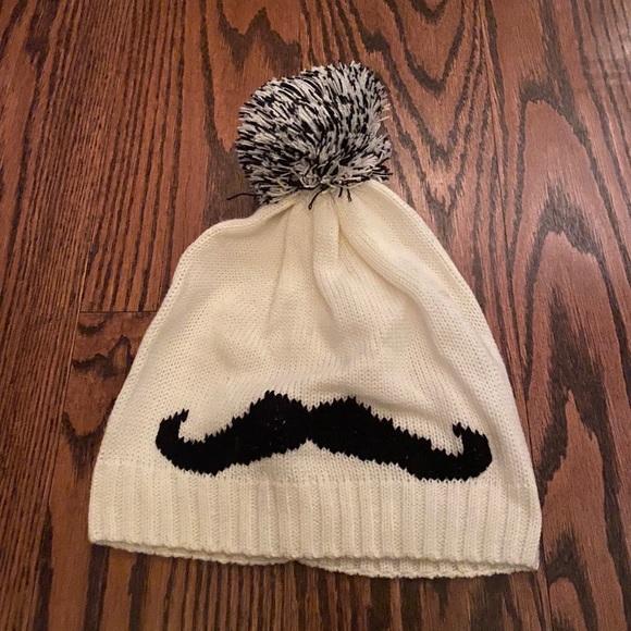 Claire's Mustache Hat